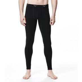 BREATH THERMO Underwear EX plus long tights (no front opening)[mens], Black