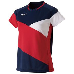 DRY SCIENCE Game shirt (racquet sports) [ladies], Dress Navy