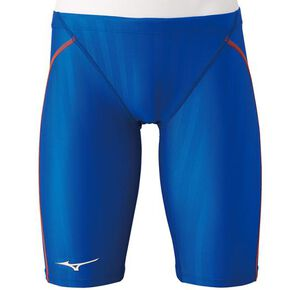 Half spats for competitive swimming [mens], Blue
