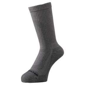 DRY VECTOR thin pile socks [mens], Gray