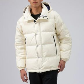 BREATH THERMO reflection gear travel middle weight down jacket[mens], Pristine White