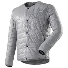 BREATH THERMO THERMO BRID insulation jacket[mens], Alloy Gray