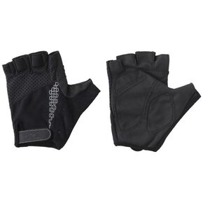 Stretch fingerless gloves, Black