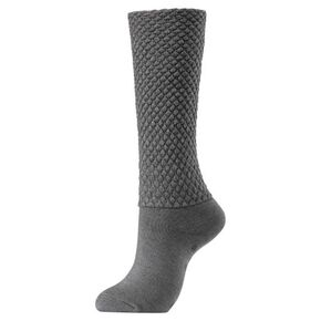 BREATH THERMO loose socks [ladies], Gray