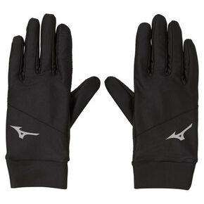 Basic glove [Unisex], Black x Silver