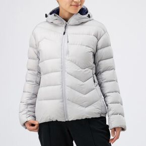BREATH THERMO reflection gear middle weight down Jacket[ladies], Vapor Silver