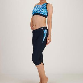Separates for Aqua Fitness (6 cropped length)[ladies], Navy × Blue