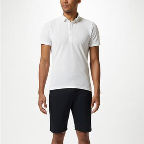 Polo shirt [mens], White