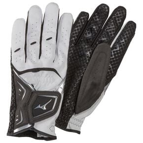 Gloves W-GRIP LG(both hands)(Park Golf)[Unisex], White × Black