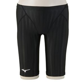 Half spats for competitive swimming [mens], Black
