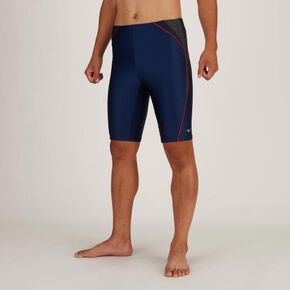 Loose spats for aqua fitness (with inner/large size/3XL, 4XL)[mens], Navy × Gray