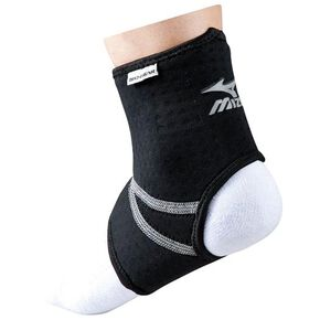 Supportors for ankles(left and right foot suitable/1 piece), Black x Silver