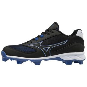Mizuno Dominant TPU(baseball/ softball)[mens], Black x Blue
