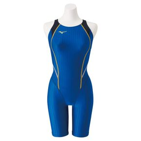 Half spats for competitive swimming (Mastersback)[ladies], Blue