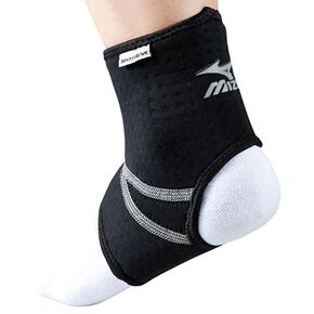 Supporter (for ankle, for both left and right / 1 piece) [Unisex], Black
