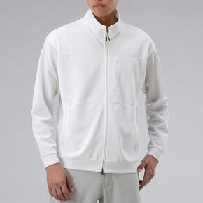 Ice Touch track Jacket[mens], Snow White