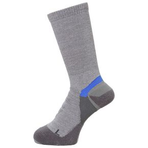 BREATH THERMO BIO GEAR arch hammock thin pile socks [Unisex], Middle Gray