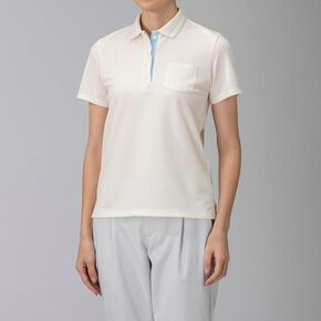 ICE TOUCH Short sleeve polo shirt [ladies], Off White