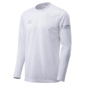 KUGEKI shirt long sleeve [mens], White