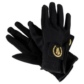 Gloves for horse riding [Unisex], Charcoal