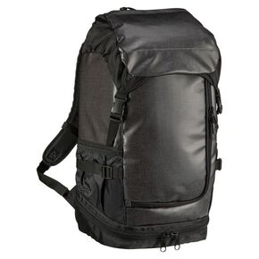 9-pocket backpack(35L), Black x Black