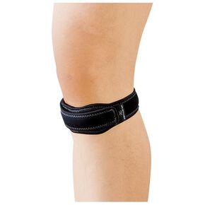 Supporter(for knee/for both left and right/1pc), Black