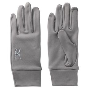 BREATH THERMO Fleece gloves [mens], Gray