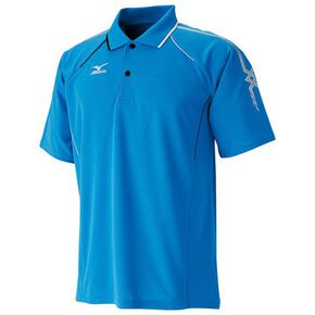 DRY SCIENCE Game shirt (racquet sports) [Unisex] , Diva Blue × Silver × Black