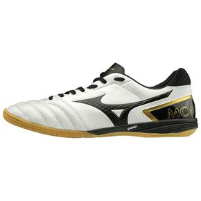 MONARCIDA SALA ELITE IN (futsal) [Unisex], White × Black x Gold