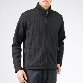 BREATH THERMO ripple quilted Jacket [mens], Black