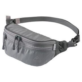 Waist pouch , Gray × Charcoal