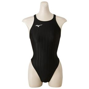 High cut for competitive swimming [Junior], Black