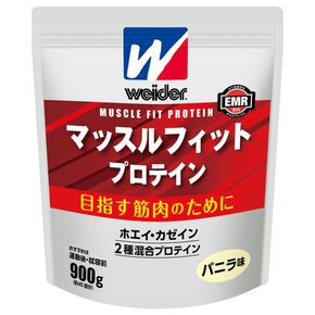 Morinaga & Company/Weider Muscle Fit Protein 900g (vanilla flavor) ※, NONE