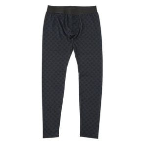 【My BREATH THERMO】long tights (no front opening)[mens], Black Houndstooth