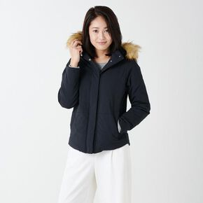 BREATH THERMO Padded quilt Jacket[ladies], Black