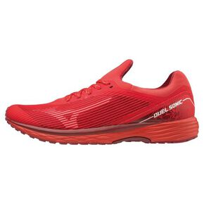Duel SONIC Wide (athletics) [Unisex], Red × White