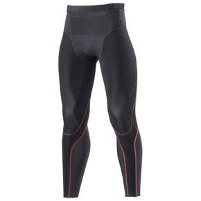 【BG5000II】BIO GEAR tights hot (long)[mens], Black x Red