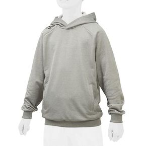 【Global Elite】Sweat Parka [Junior], Charcoal Heather Gray