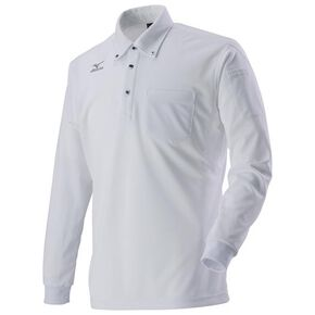 DRIVE SCIENCE Work Polo shirt long sleeve [mens], White