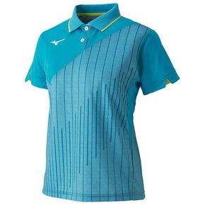 Game shirt (racquet sports) [ladies], Peacock Blue