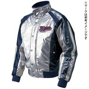 <Victory Stage>BREATH THERMOGround coat(baseball)[Unisex], Silver × Navy