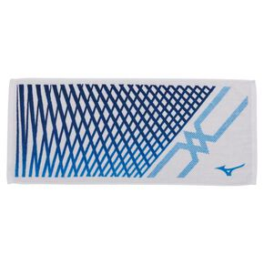 Imabari towel/ face towel(in box), White × Blue