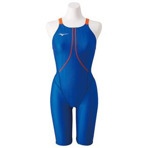 Half spats for competitive swimming [Junior], Blue