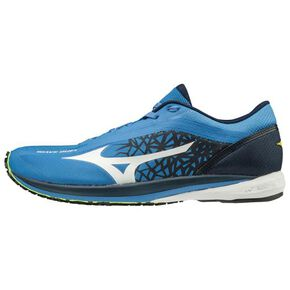 WAVE DUEL Wide (Racing) [mens], Blue × White × Navy