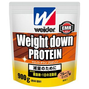 Morinaga & Company/Weider Weight Down Protein 900g(Mixed Fruit Flavour) ※, NONE