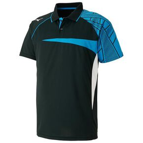 DRY SCIENCE Game shirt (racquet sports) [Unisex], Black
