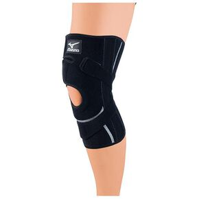 Supporter (for knees / for both left and right / 1 piece), Black