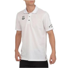 Heather short sleeve shirt(polo collar)[mens], White