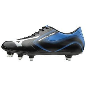 Samurai Speed ​​2 (rugby)[mens], Black x White × Blue