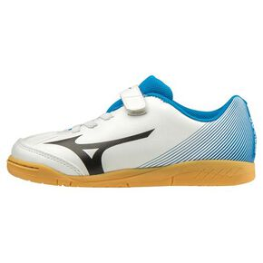 REVIEWER 3 CLUB KIDS IN(Soccer)[Junior], White × Black x Blue
